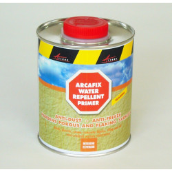 ARCAFIX - Hardens porous substrates prone to disintegration, crumbling and/or powdering water repellent,waterproofs,