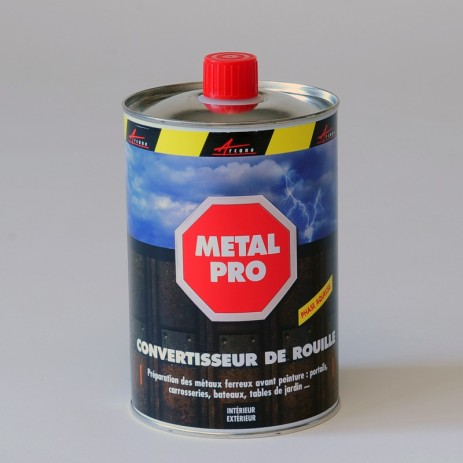 ARCARUST - Rust converter transforms rust into a protective anti-corrosion coating