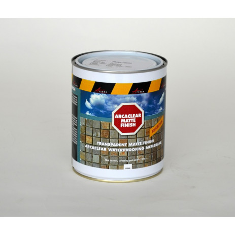 ARCACLEAR FINISH - Arcaclear Matte finish transparent waterproofing matte finish