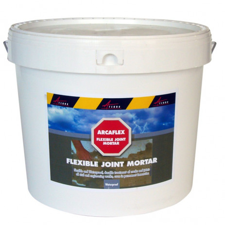 ARCAFLEX - Flexible joint mortar large joints tiling repair crack in cement steel pvc substrates swimming pool