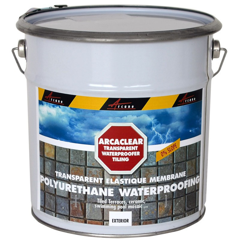 ARCACLEAR RESIN - Arcaclear transparent waterproofing resin