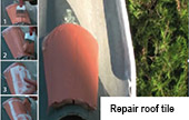 repair roof tile