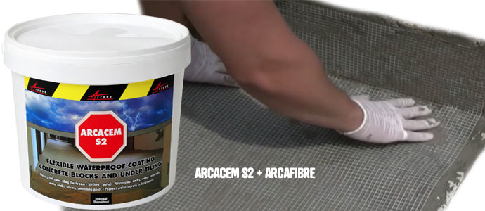 fix cracked concrete with arcacem s2 and arcafibre
