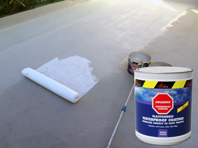 stop water ingress with arcadeck waterproof terrace