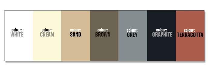 waterproof sloped rooftop tile arcaroof colour chart