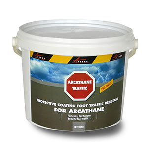 arcathane traffic top coat for polyuerethane waterproof membrane